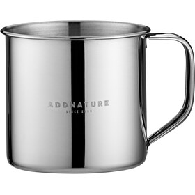 addnature Mug Stainless Steel 300ml silver